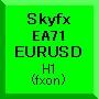 Skyfx EA71 EURUSD(H1)