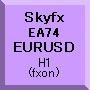 Skyfx EA74 EURUSD(H1)