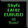 Skyfx EA102 EURUSD(H1)