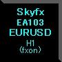 Skyfx EA103 EURUSD(H1)