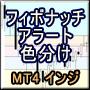 【MT4インジ】フィボナッチにアラート機能を追加!レベルごとの背景塗り分け機能も![MTP_FiboColor_Alert]