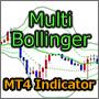【MT4インジ】ラインタッチでアラートやWAV再生可能なボリンジャーバンド![Multi_Bollinger]