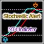 【MT4インジ】アラート、売買矢印表示対応ストキャスインジ。擬似MTF対応[MTP_Stochastic_Alert]