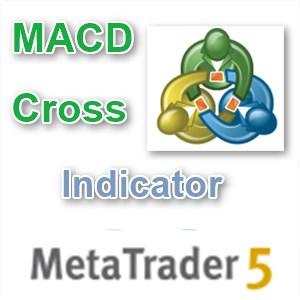 MT5用 MACDクロスインディケーター
