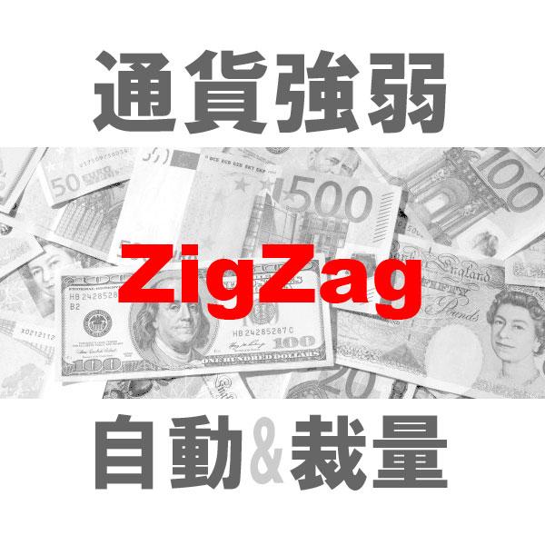 マルチ売買 通貨強弱ZigZag 二刀流エントリーツール(裁量+システムトレード)TBMTS_ZigZag_Pro
