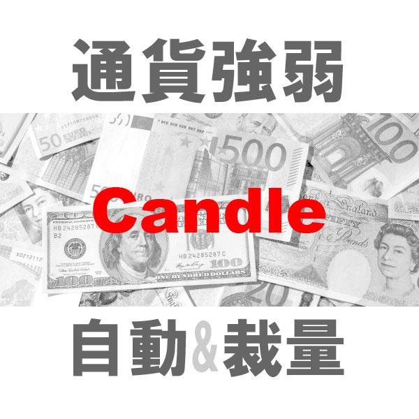 マルチ売買 通貨強弱Candle 二刀流エントリーツール(裁量+システムトレード)TBMTS_Candle_Pro