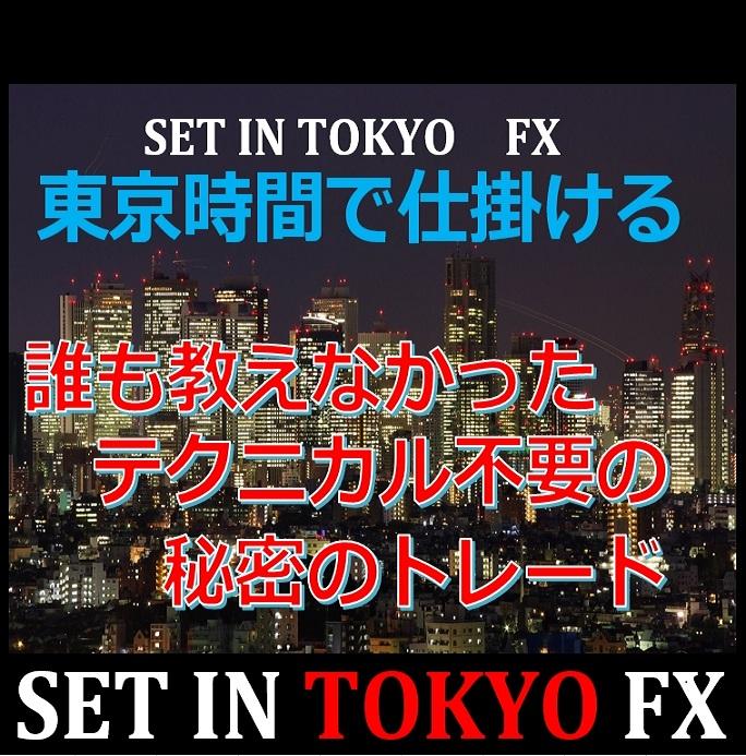 SET IN TOKYO FX ★FXは毎日同じ事を繰り返すだけで利益になる!