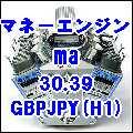 マネーエンジン ma 30.39 GBPJPY(H1)